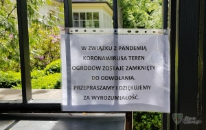 Pamiętajcie o ogrodach ... (zamkniętych)